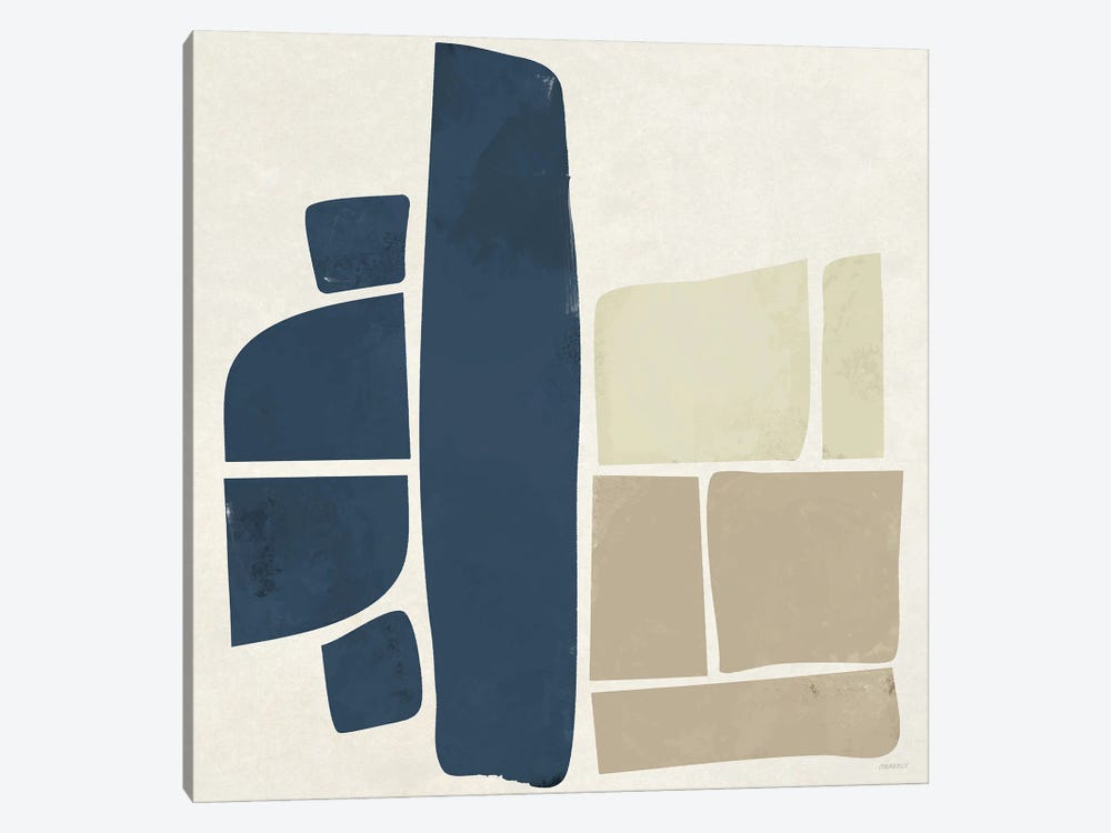 Machine Shapes by Dan Meneely 1-piece Canvas Print