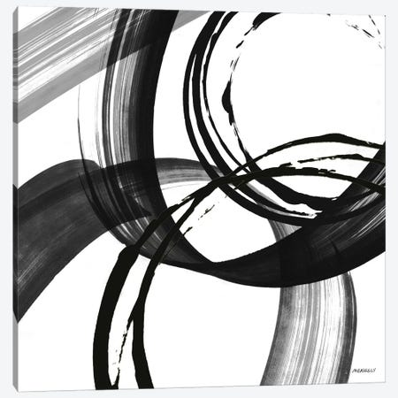 Black and White Pop II Canvas Print #DAM11} by Dan Meneely Canvas Art