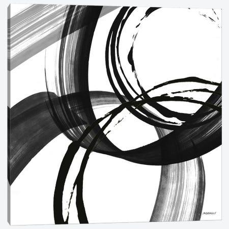 Black and White Pop II Canvas Print #DAM11} by Dan Meneely Canvas Art