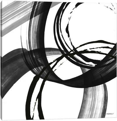 Black and White Pop II Canvas Art Print