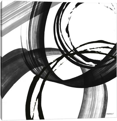 Black and White Pop II Canvas Art Print