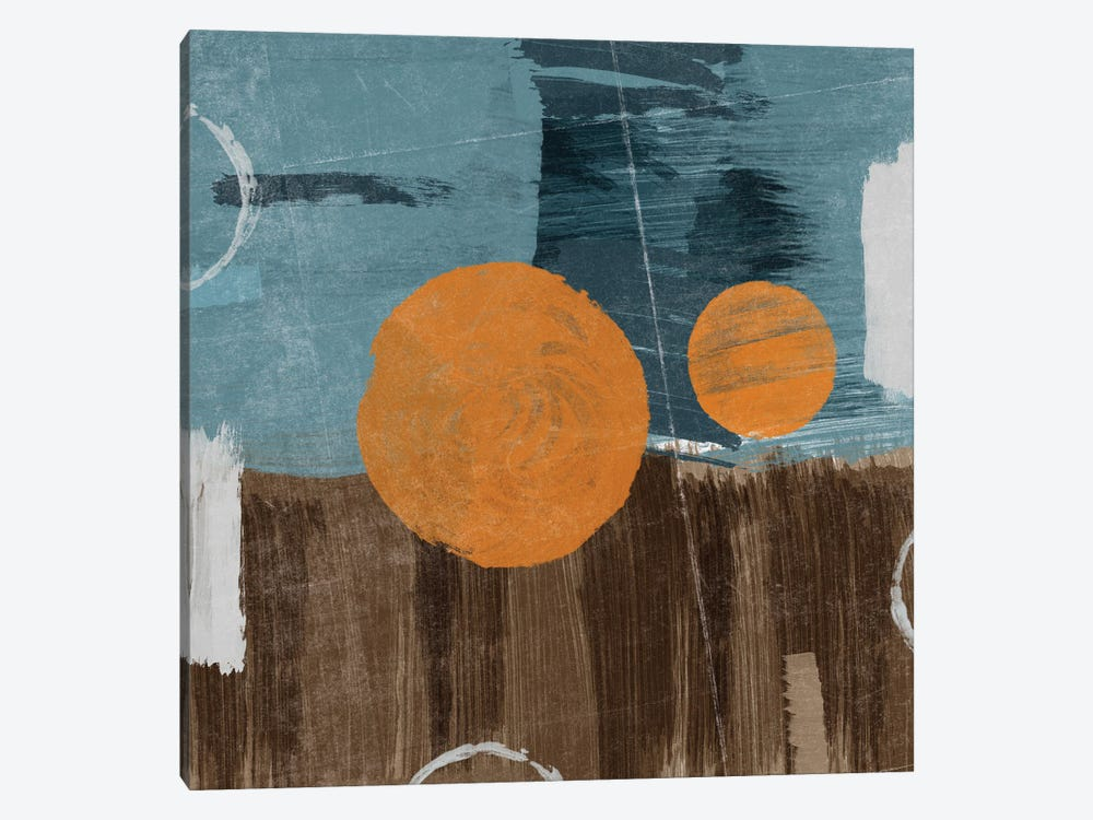 Modern City Square Abstract II by Dan Meneely 1-piece Art Print