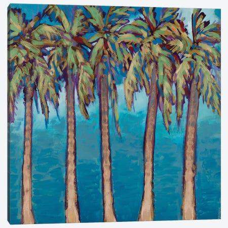 Neutral Palm Trees Canvas Print #DAM122} by Dan Meneely Canvas Art Print