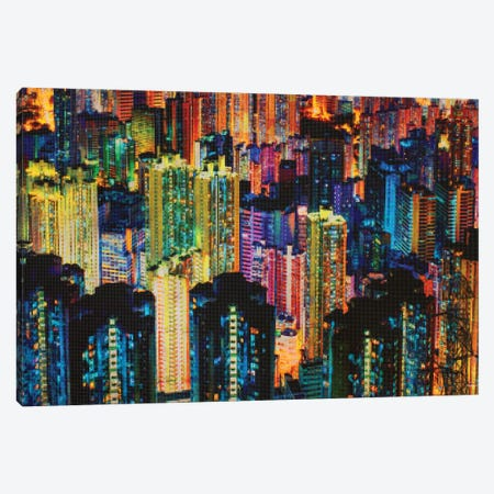 Night Life Canvas Print #DAM123} by Dan Meneely Canvas Print