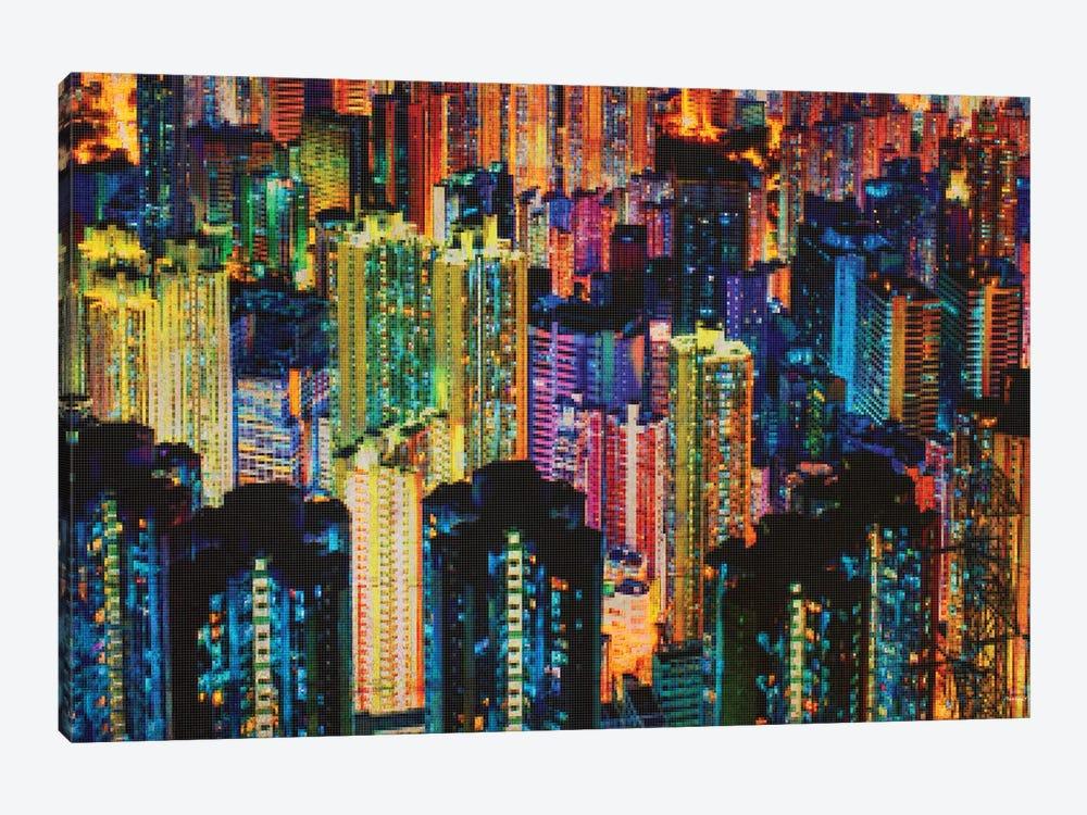 Night Life by Dan Meneely 1-piece Canvas Wall Art