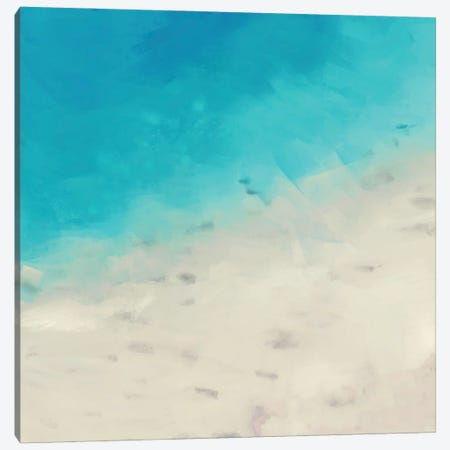 Ocean Blue Sea I Canvas Print #DAM127} by Dan Meneely Canvas Artwork