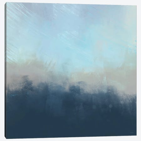 Ocean Fog I Canvas Print #DAM129} by Dan Meneely Canvas Art Print