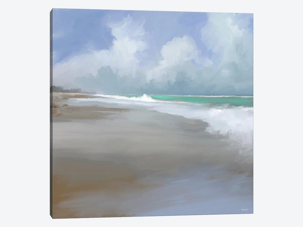 Peaceful Day On The Beach II by Dan Meneely 1-piece Art Print