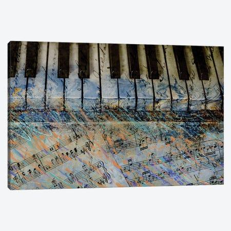 Piano Keys Canvas Print #DAM136} by Dan Meneely Canvas Print