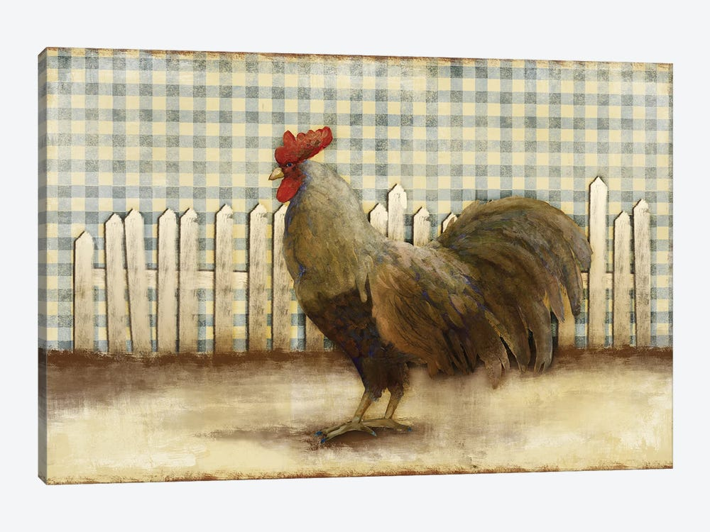 Rooster by Dan Meneely 1-piece Canvas Art Print
