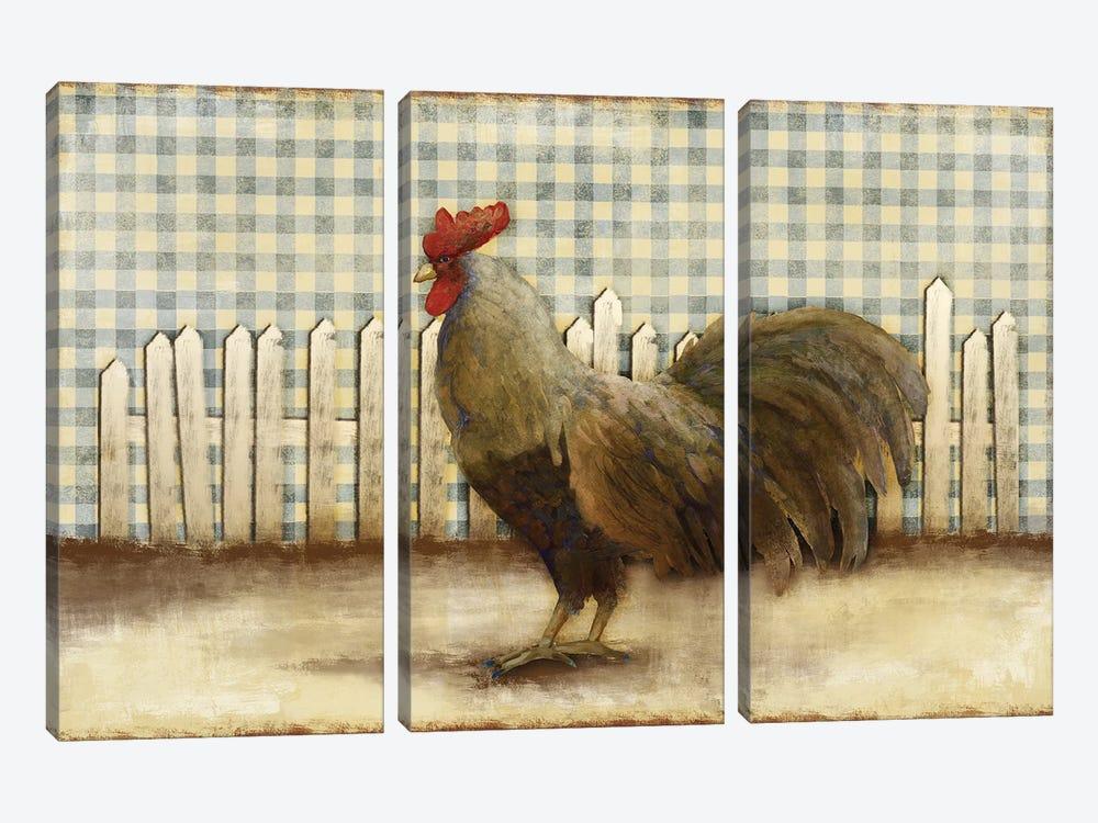 Rooster by Dan Meneely 3-piece Art Print
