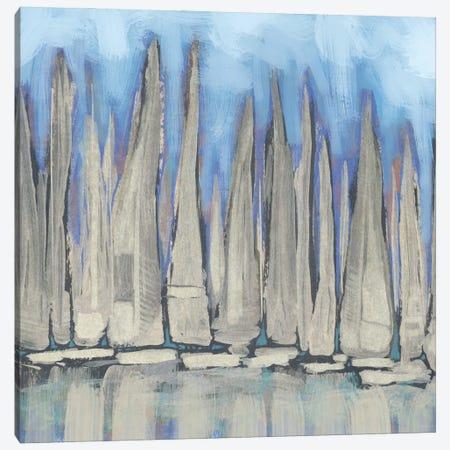 Sailboat Crowd I Canvas Print #DAM141} by Dan Meneely Canvas Print