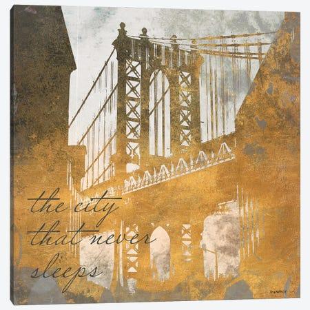 The City That Never Sleeps Canvas Print #DAM143} by Dan Meneely Art Print