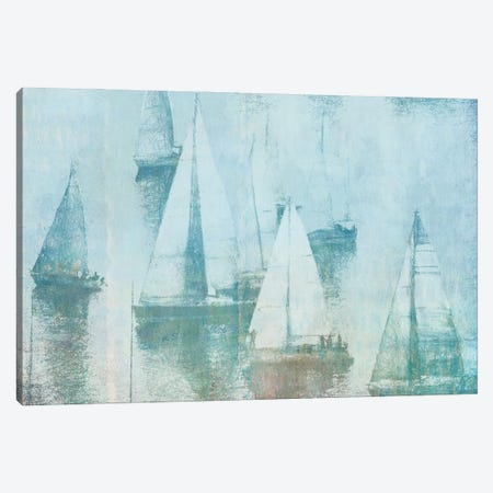 Vintage Sailing I Canvas Print #DAM149} by Dan Meneely Canvas Art Print