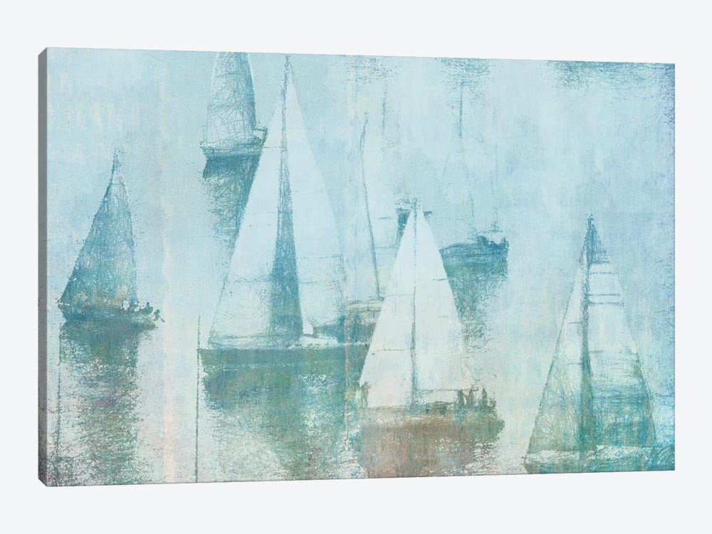 Vintage Sailing I by Dan Meneely 1-piece Canvas Art