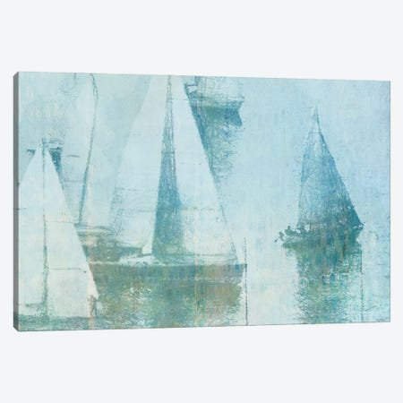 Vintage Sailing II Canvas Print #DAM150} by Dan Meneely Canvas Artwork
