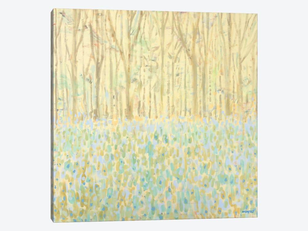 Yellow Birchwood Trees by Dan Meneely 1-piece Art Print