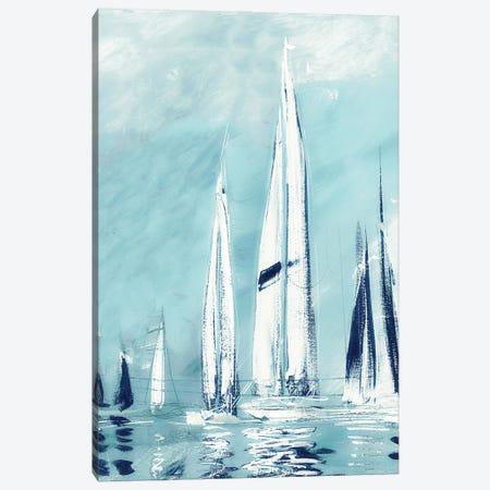Tall Fantasy Sails Canvas Print #DAM168} by Dan Meneely Canvas Art Print