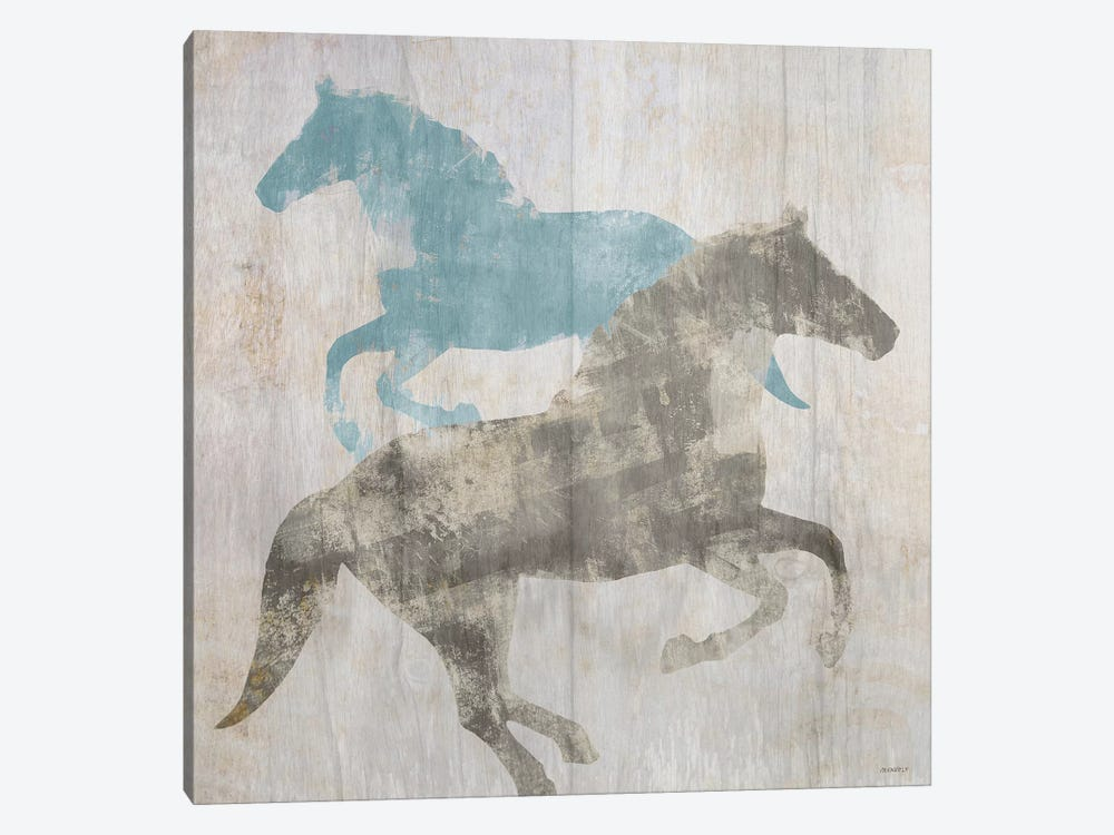 Equine I by Dan Meneely 1-piece Canvas Print