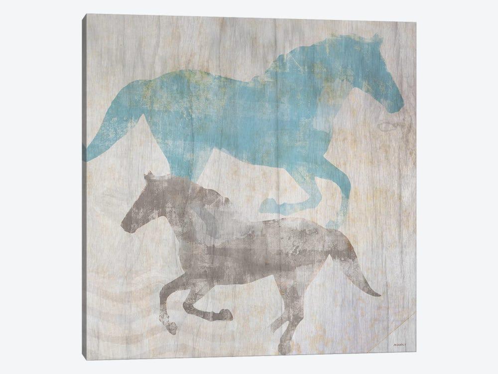 Equine II by Dan Meneely 1-piece Canvas Artwork