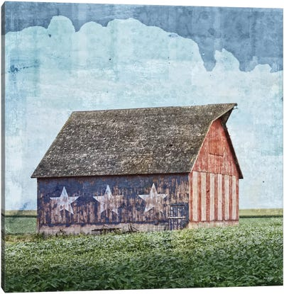American Barn Canvas Art Print