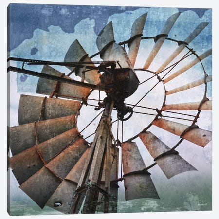 In the Wind Canvas Print #DAM22} by Dan Meneely Art Print