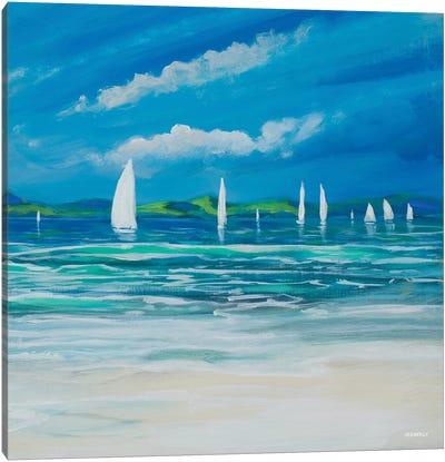 Sail Away Beach II Canvas Art Print