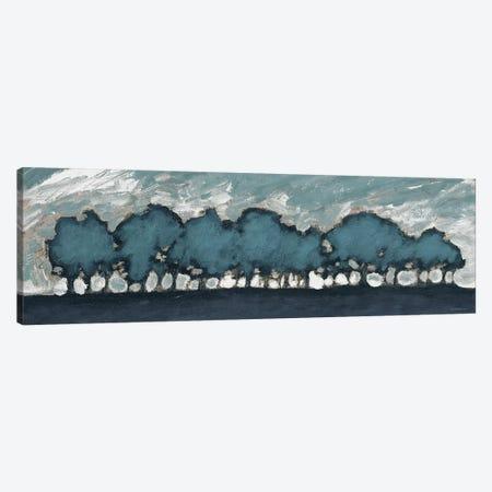 Tree Row Sunset Canvas Print #DAM34} by Dan Meneely Canvas Print
