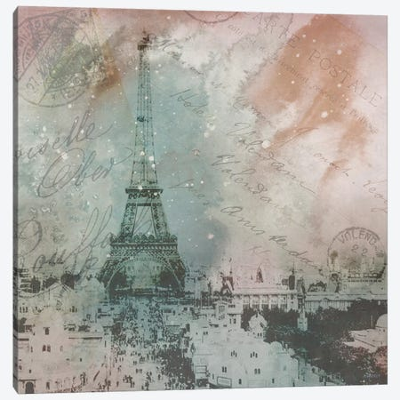 Vintage Europe I Canvas Print #DAM36} by Dan Meneely Canvas Print