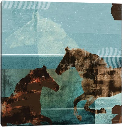 Around The Stable I Canvas Art Print