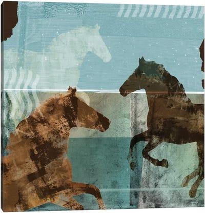 Around The Stable II Canvas Art Print