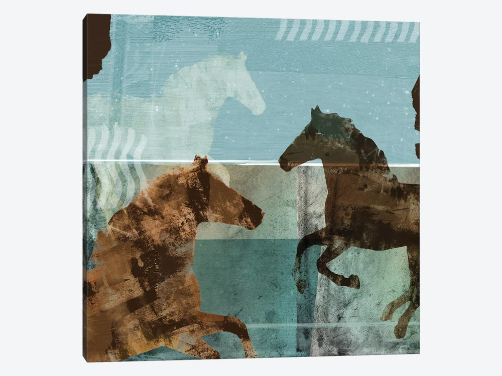 Around The Stable II 1-piece Art Print
