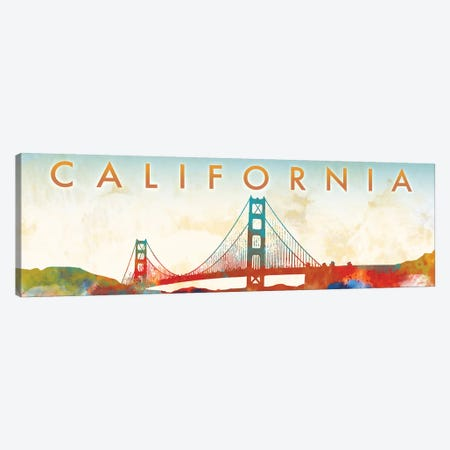 California Golden Gate Canvas Print #DAM44} by Dan Meneely Canvas Artwork