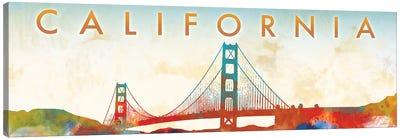 California Golden Gate Canvas Art Print