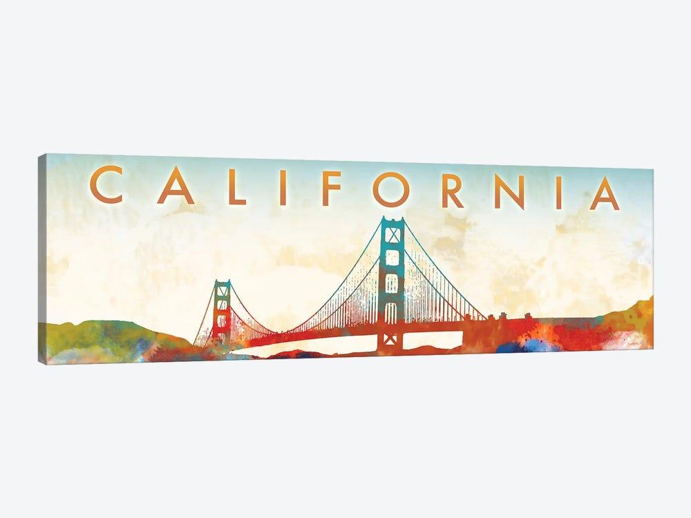 California Golden Gate by Dan Meneely 1-piece Canvas Wall Art