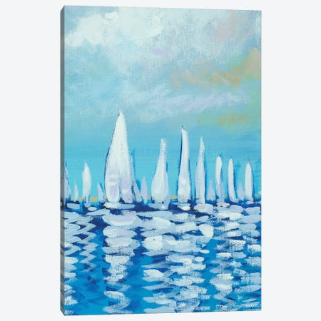 Sailing I Canvas Print #DAM54} by Dan Meneely Canvas Print