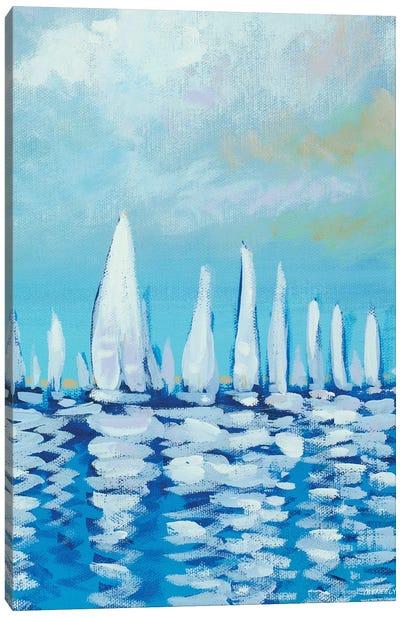 Sailing I Canvas Art Print