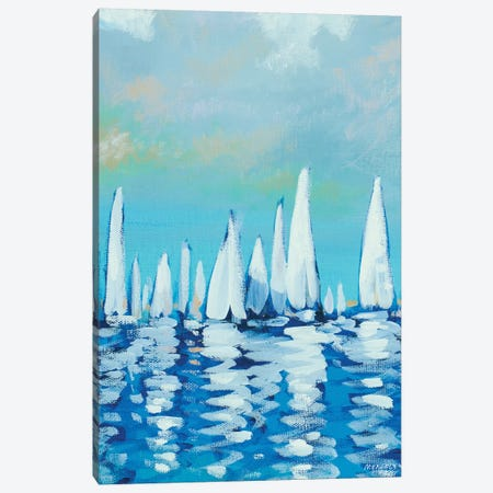 Sailing II Canvas Print #DAM55} by Dan Meneely Canvas Print