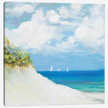 Seaside I Canvas Print #DAM56} by Dan Meneely Canvas Art Print