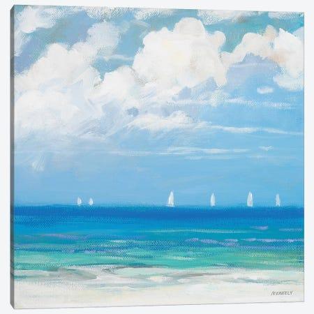 Seaside II 3-Piece Canvas #DAM57} by Dan Meneely Art Print