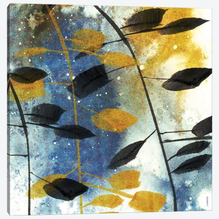 Autumn Leaves II 3-Piece Canvas #DAM5} by Dan Meneely Art Print