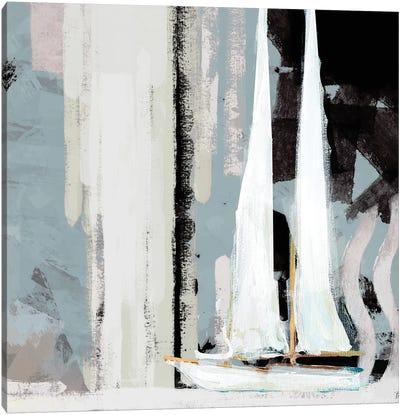 Boat Sailing I Canvas Art Print