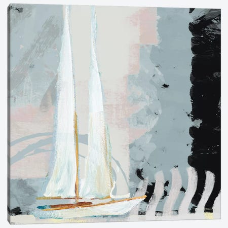 Boat Sailing II Canvas Print #DAM62} by Dan Meneely Canvas Print