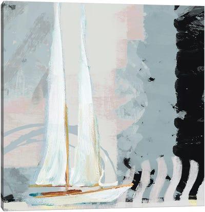 Boat Sailing II Canvas Art Print