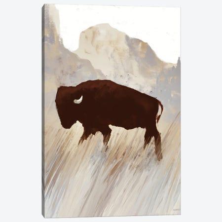Buffalo Sunset Hill II Canvas Print #DAM67} by Dan Meneely Canvas Art
