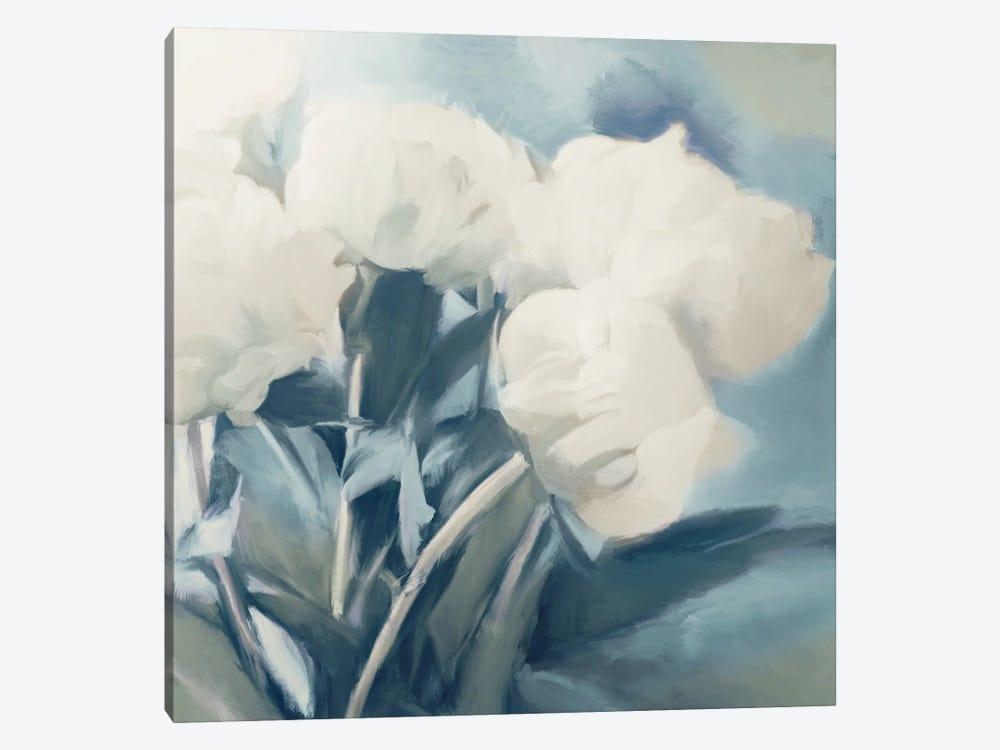 White Roses I by Dan Meneely 1-piece Art Print