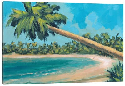 A Palm Tree Away Canvas Art Print