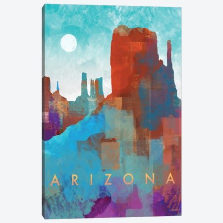 Arizona Canvas Print #DAM79} by Dan Meneely Canvas Art