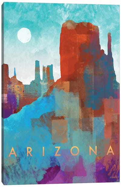 Arizona Canvas Art Print