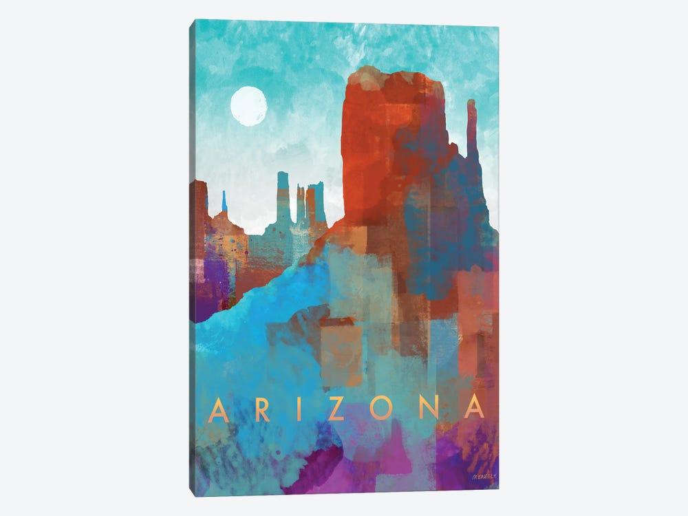 Arizona by Dan Meneely 1-piece Canvas Wall Art
